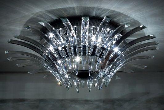 Plafon mały Kristal marki Max Light